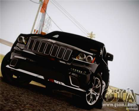 Jeep Grand Cherokee SRT-8 2012 for GTA San Andreas