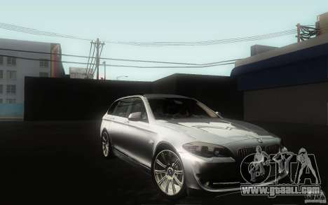BMW F11 530d Touring for GTA San Andreas side view