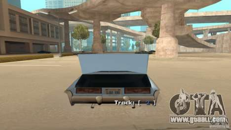 Music car v4 for GTA San Andreas third screenshot