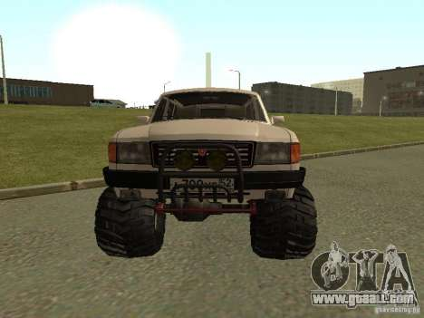 31022 Volga GAS 4 x 4 for GTA San Andreas left view