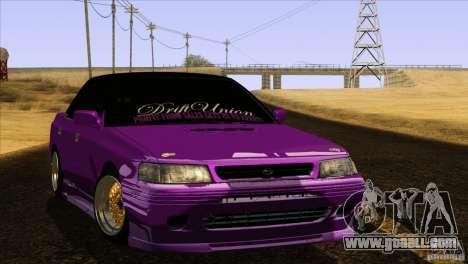 Subaru Legacy Drift Union for GTA San Andreas
