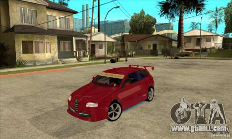 Alfa Romeo 147 for GTA San Andreas