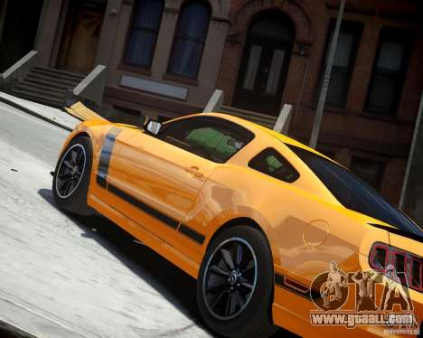 Ford Mustang Boss for GTA 4 right view