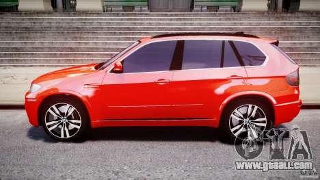 BMW X5M Chrome for GTA 4 side view