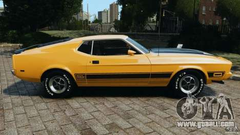 Ford Mustang Mach 1 1973 for GTA 4 left view