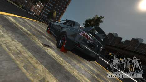 Mitsubishi Lancer Evolution for GTA 4 back view
