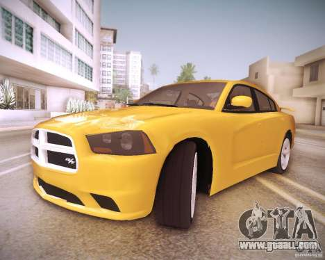 Dodge Charger 2011 v.2.0 for GTA San Andreas interior