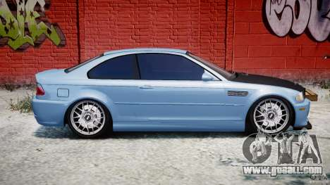 BMW M3 E46 Tuning 2001 for GTA 4 side view