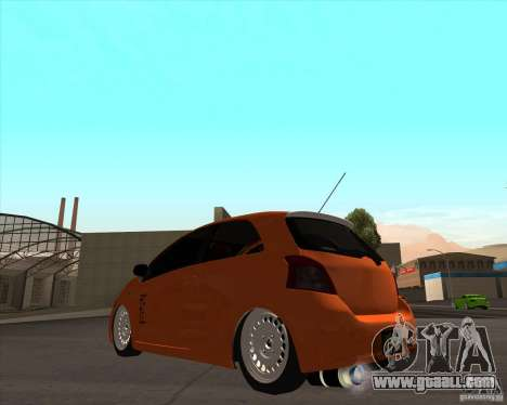 Toyota Yaris II Pac performance for GTA San Andreas left view