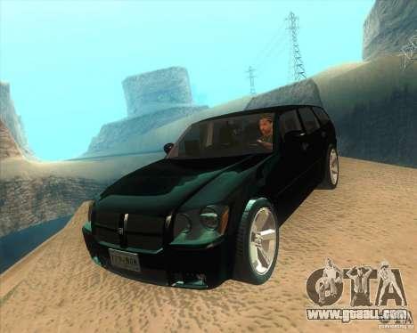 Dodge Magnum RT 2008 v.2.0 for GTA San Andreas