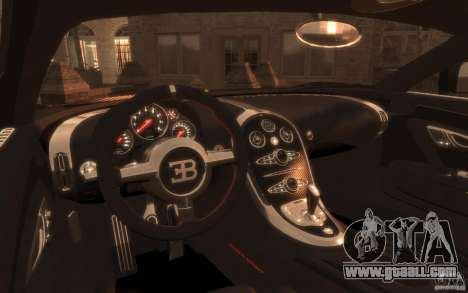 Bugatti Veyron Super Sport 2010 for GTA 4 back left view