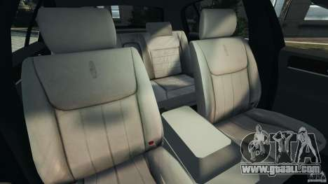 Lincoln Town Car 2006 v1.0 for GTA 4 inner view
