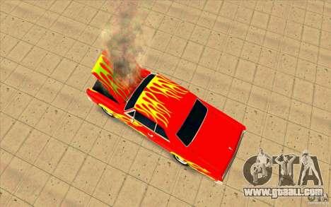 Dead car for GTA San Andreas third screenshot