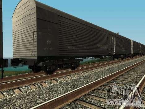 Refrežiratornyj wagon Dessau No. 6 for GTA San Andreas