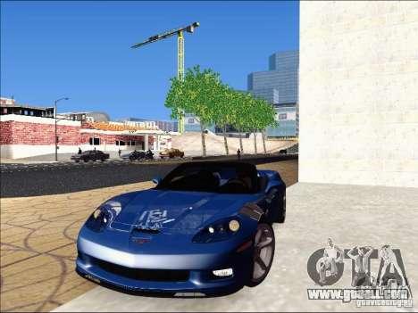 Chevrolet Corvette Grand Sport Cabrio 2010 for GTA San Andreas