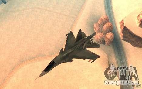 The Su-34 for GTA San Andreas
