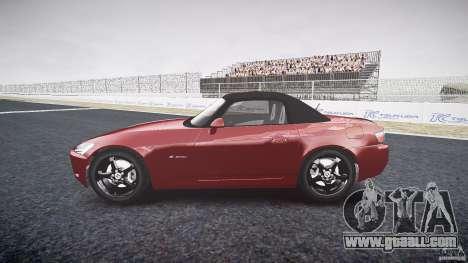 Honda S2000 2002 v2 for annealing for GTA 4 back view