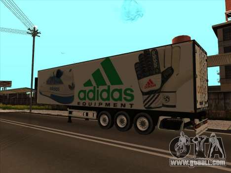 Trailer Adidas for GTA San Andreas