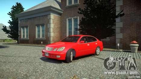 Toyota Aristo for GTA 4