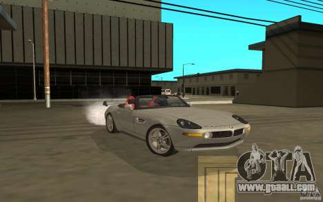 BMW Z8 for GTA San Andreas back left view