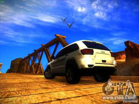 Jeep Grand Cherokee 2012 v2.0 for GTA San Andreas left view