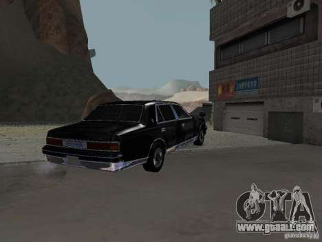 Toyota Century for GTA San Andreas side view