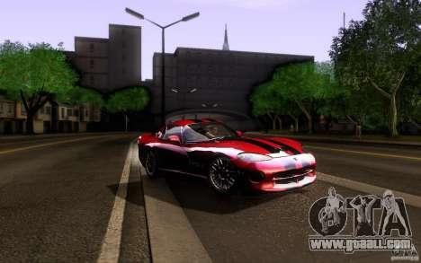 Dodge Viper GTS Coupe TT Black Revel for GTA San Andreas