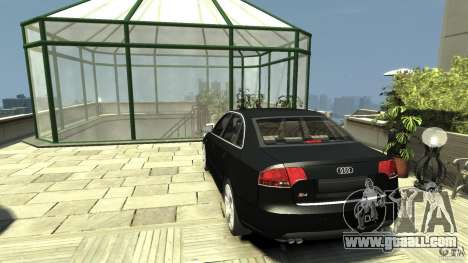 Audi S4 Quattro for GTA 4 back left view