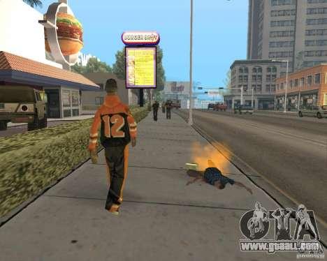Incendiary ammo for GTA San Andreas forth screenshot