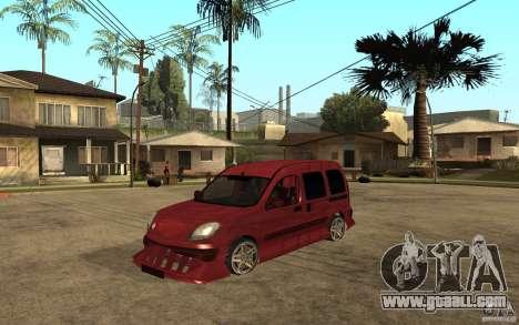 Renault Kangoo Tuning for GTA San Andreas