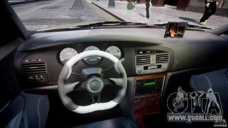 Chevrolet Evanda for GTA 4 back view