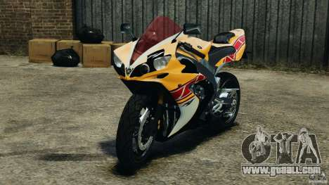 Yamaha YZF-R1 2012 for GTA 4