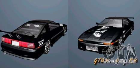 Toyota Supra MK3 Tuning for GTA San Andreas