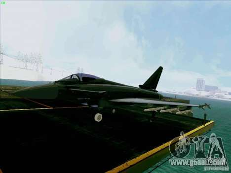 Eurofighter-2000 Typhoon for GTA San Andreas