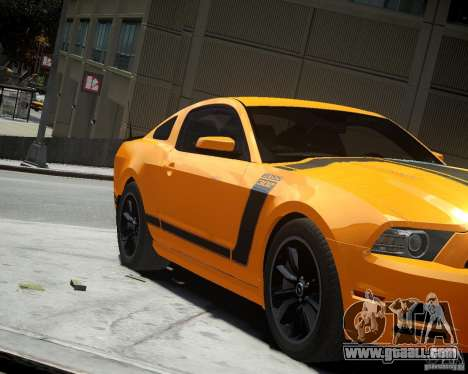 Ford Mustang Boss for GTA 4 left view