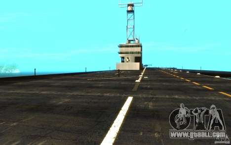 New Aircraft carrier for GTA San Andreas inner view