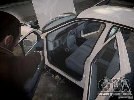 Chevrolet Caprice 1993 Rims 1 for GTA 4 bottom view
