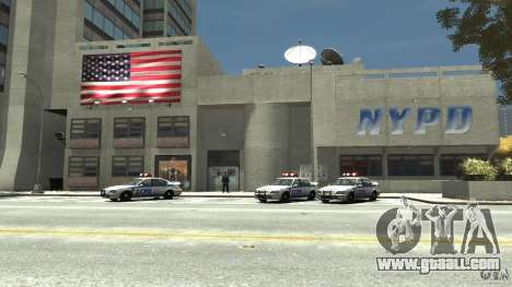 Remake police station for GTA 4