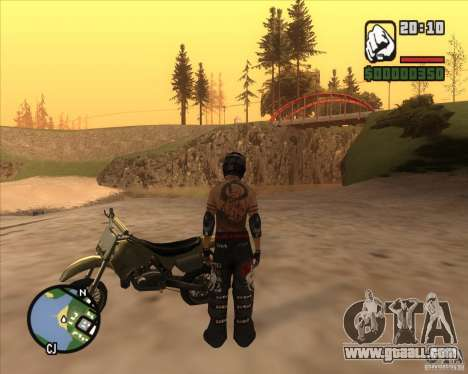 The racer from the Fuel for GTA San Andreas third screenshot