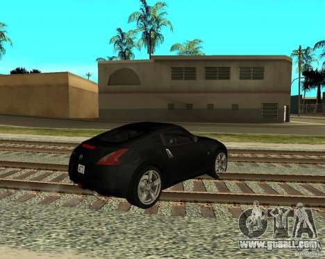Nissan 370Z v2.0 for GTA San Andreas