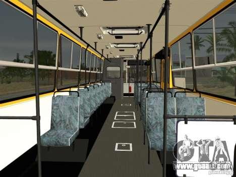 IKARUS 260 for GTA San Andreas interior