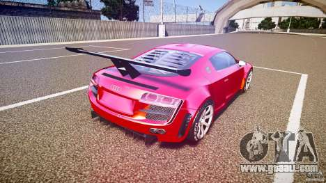 Audi R8 for GTA 4 side view