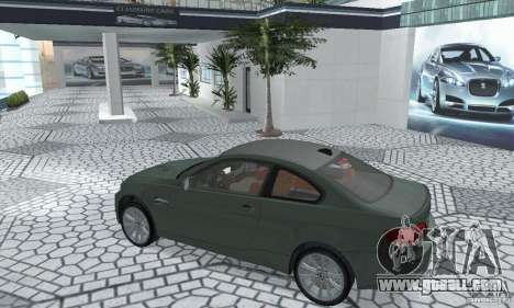 BMW M3 E92 Stock for GTA San Andreas back view