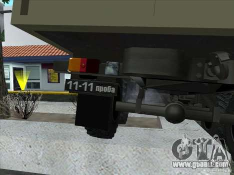 GAS 34 for GTA San Andreas inner view