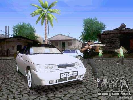 LADA 21103 Maxi for GTA San Andreas bottom view