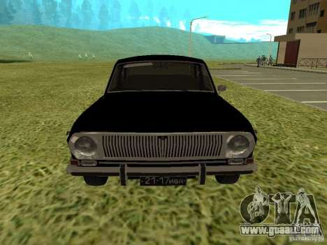 GAZ-24 Volga 01 for GTA San Andreas back left view