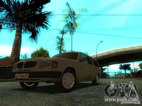 GAZ Volga 310221 Wagon for GTA San Andreas left view
