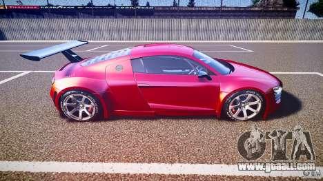 Audi R8 for GTA 4 inner view
