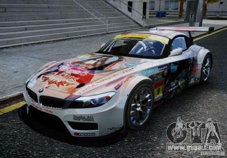 BMW Z4 GT3 2010 V.2.0 for GTA 4