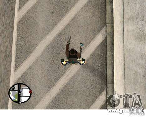 A New Jetpack for GTA San Andreas third screenshot